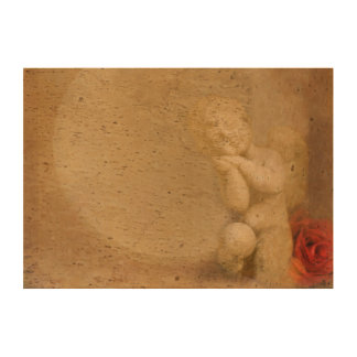 marco con el papel del corcho de la foto del ángel papel de corcho