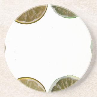 marco cortado del limón posavasos personalizados
