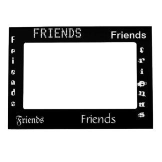 marco de 5 x 7 amigos marcos magnéticos de fotos