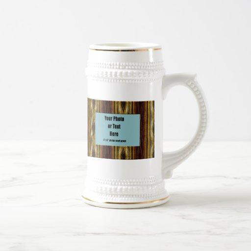 Marco de cobre de las cintas - personalizable jarra de cerveza