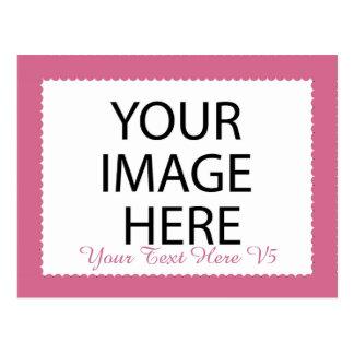 Marco de encargo de la foto de DIY usted se diseña Postal