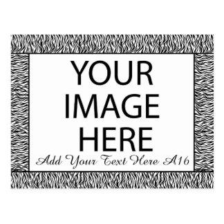Marco de encargo de la foto de DIY usted se diseña Tarjeta Postal