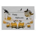 Marco de Halloween Felicitaciones