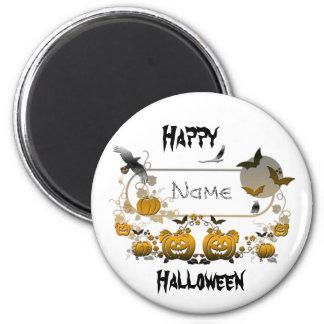 Marco de Halloween Imán Redondo 5 Cm