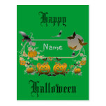 Marco de Halloween Postales