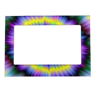 Marco de la explosión del color marcos magneticos