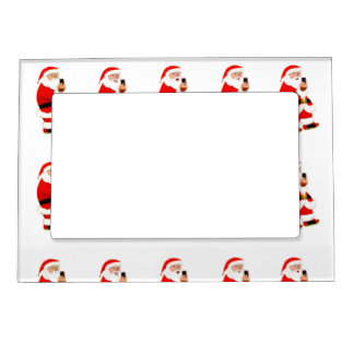 Marco de la foto de Selfie del navidad Marcos Magnéticos De Fotos