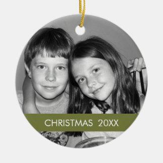 Marco de la foto del navidad - moderno ornaments para arbol de navidad