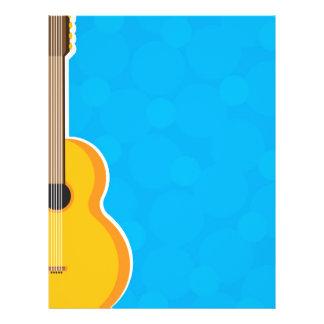 """Marco de la guitarra folleto 8.5"""" x 11"""""""