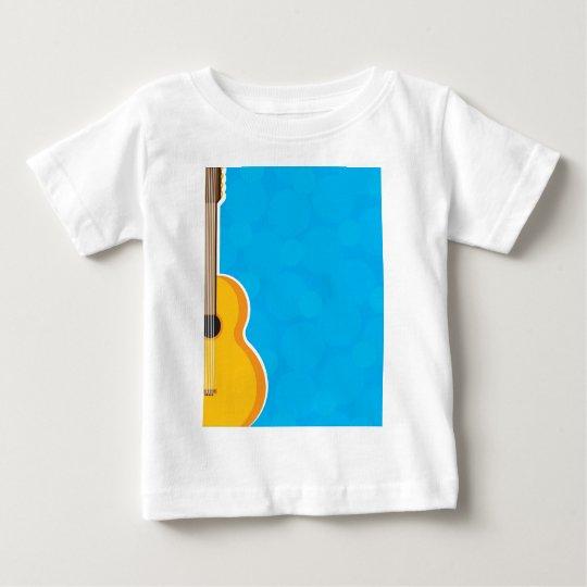 Marco de la guitarra playera de bebé