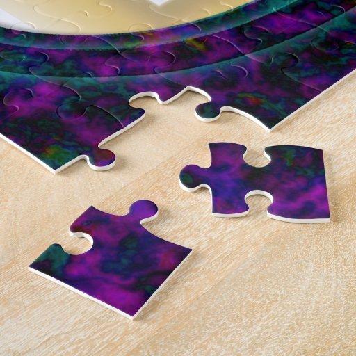 Marco de la nebulosa puzzle con fotos