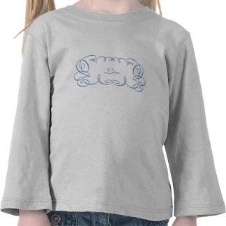 Marco de la señal de Curlie Camiseta