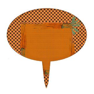 Marco de la zanahoria, modelo de la guinga, puntos figura de tarta