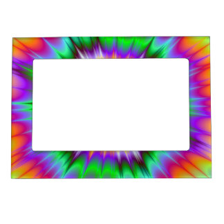 Marco de las ondas de choque marcos magnéticos de fotos