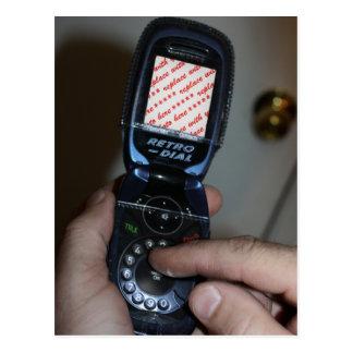 Marco de marcado manual de la foto del teléfono mó