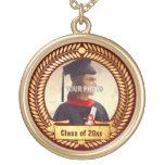 Marco decorativo de la foto para la graduación pendiente personalizado