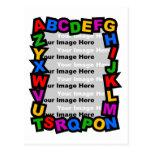 Marco del alfabeto postal