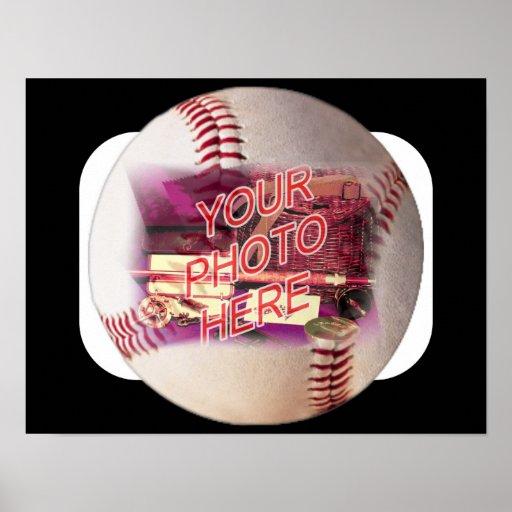 Marco del béisbol póster