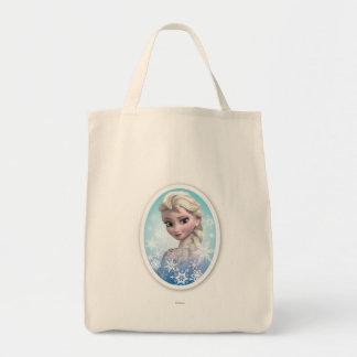 Marco del copo de nieve de Elsa el | Bolsa Tela Para La Compra