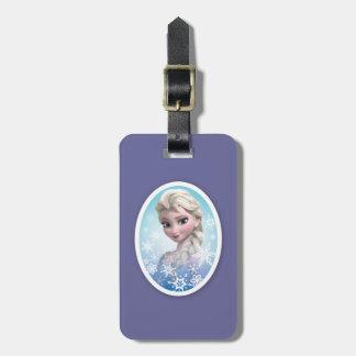 Marco del copo de nieve de Elsa el   Etiquetas Bolsa