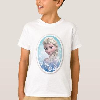 Marco del copo de nieve de Elsa el | Playera
