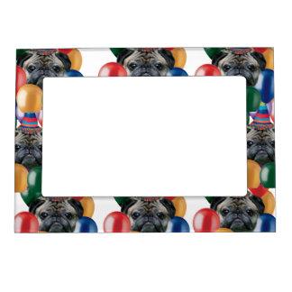 Marco del imán del perro del barro amasado del cum marcos magneticos de fotos