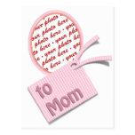 Marco del recuerdo del día de madre para la mamá postal