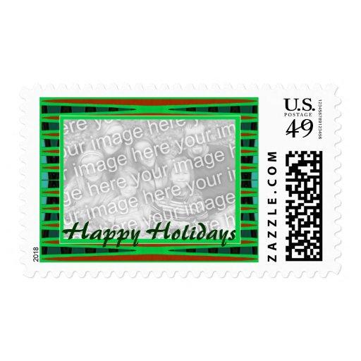 marco del verde buenas fiestas sellos