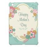 Marco floral feliz del día de madre