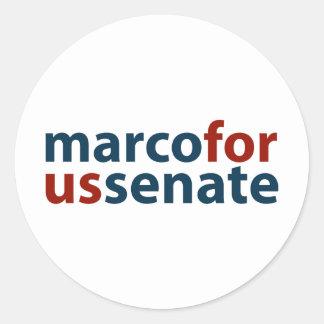 Marco For U.S. Senate Stickers