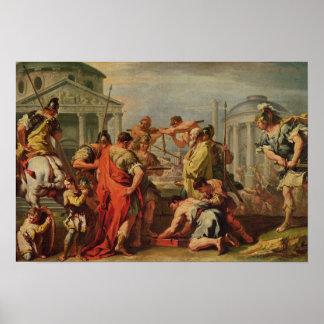 Marco Furius Camillus y Brennus Posters
