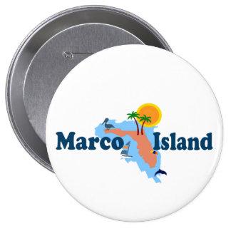 Marco Island. Button