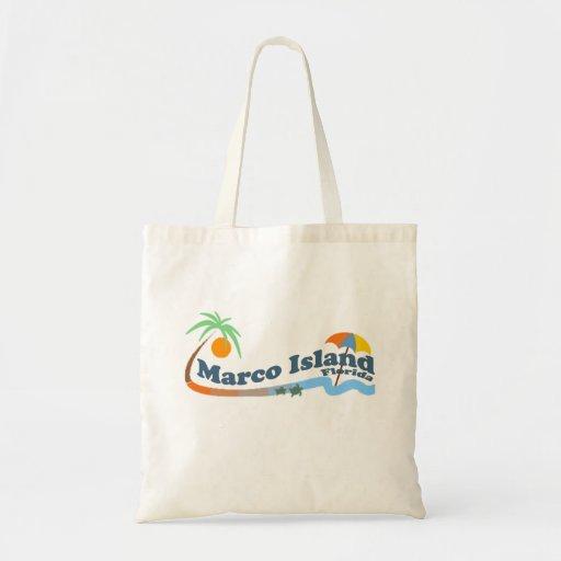 Marco Island. Canvas Bag