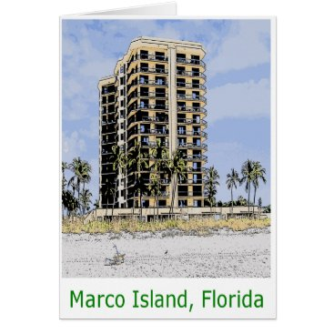 Beach Themed Marco Island Condo with Palm Trees in Front Card