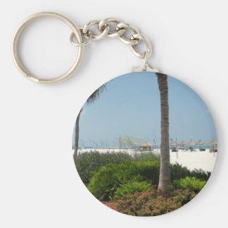 Marco Island, FL Basic Round Button Keychain