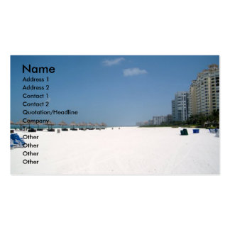 Marco Island, FL Double-Sided Standard Business Cards (Pack Of 100)