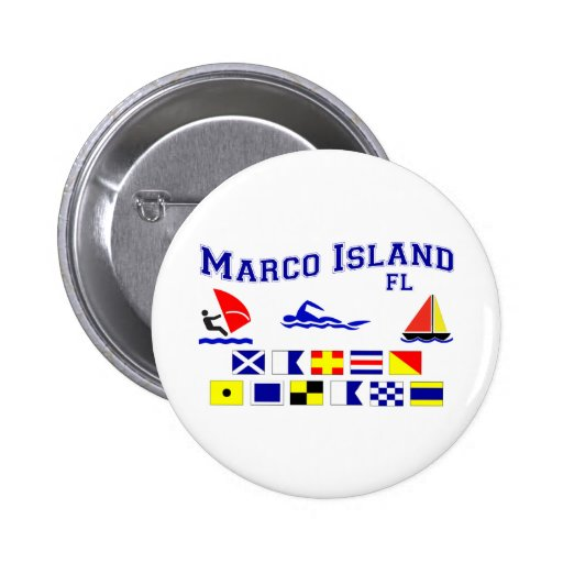 Marco Island FL Signal Flags Buttons