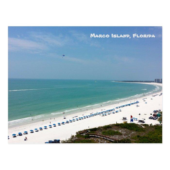 Marco Island Beach: Marco Island Florida Beach Gulf Of Mexico Postcard