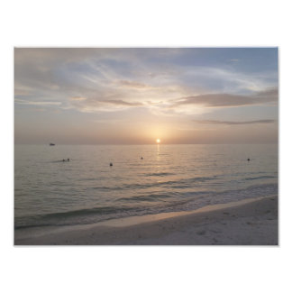 Marco Island Florida Beach Sunset Photo Print