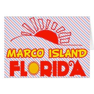 Marco Island, Florida Card