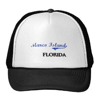 Marco Island Florida City Classic Trucker Hat