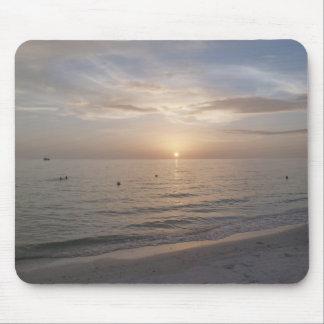 Marco Island Florida Sunset Photo Mousepad Beach