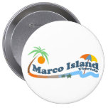 Marco Island. Pinback Buttons