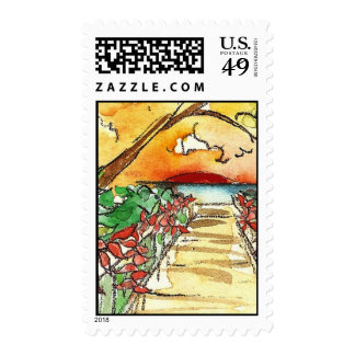Marco Island Sunset Stamps