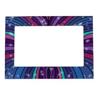 Marco magnético abstracto marcos magnéticos de fotos