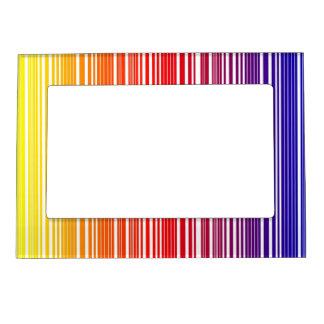 """Marco magnético """"código de barras del arco iris """" marcos magnéticos de fotos"""