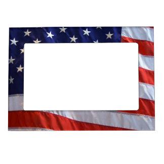 Marco magnético de la bandera americana marcos magneticos para fotos