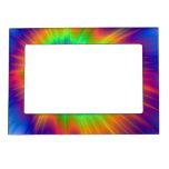 Marco magnético de la bola de fuego del teñido marcos magnéticos de fotos
