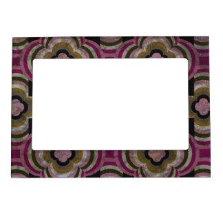 Marco magnético de la foto de las reflexiones del  marcos magnéticos para fotos