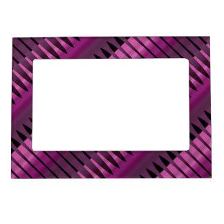 Marco magnético de la foto del arsenal púrpura marcos magnéticos para fotos